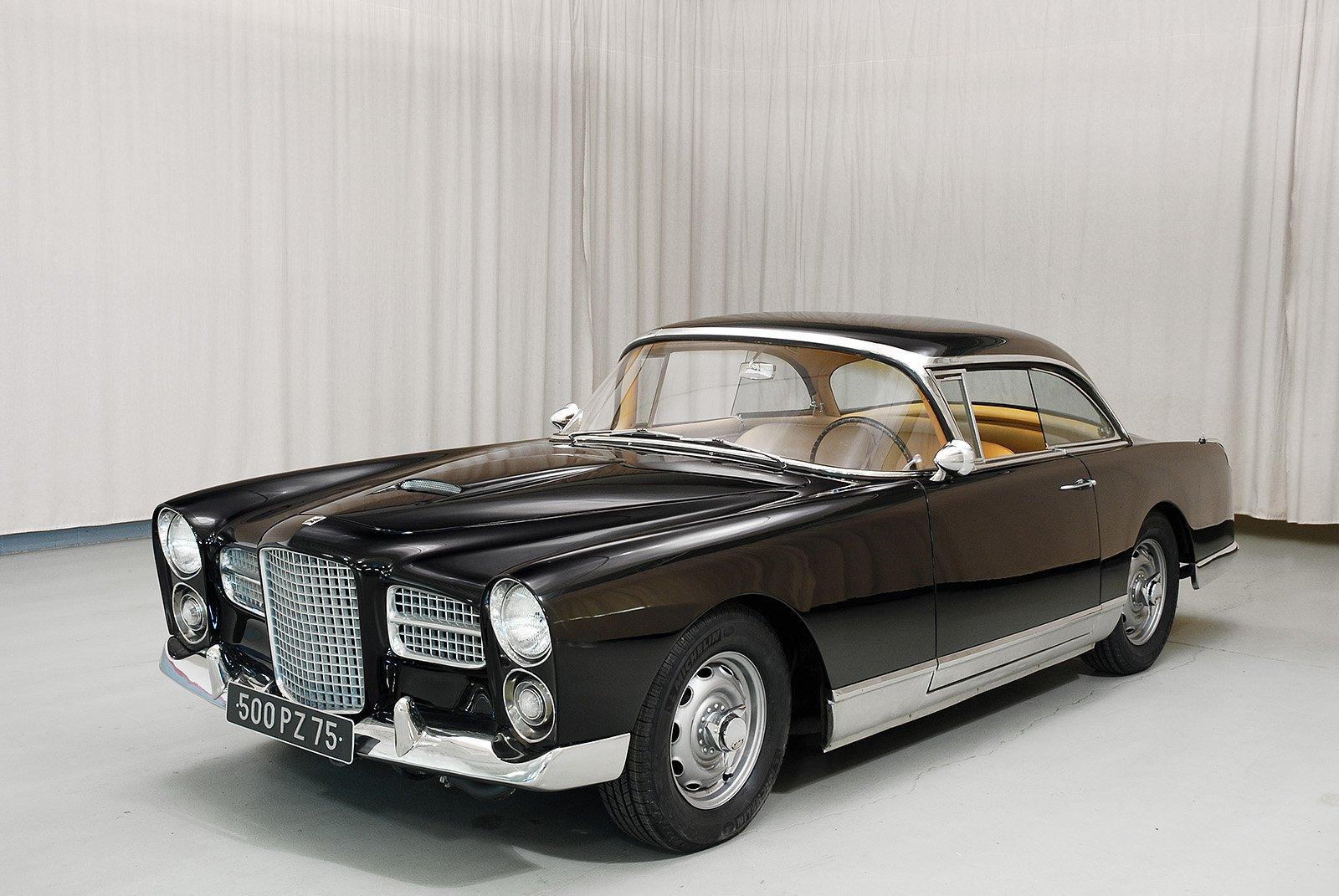 1961 facel vega hk 500 coupe. Black Bedroom Furniture Sets. Home Design Ideas