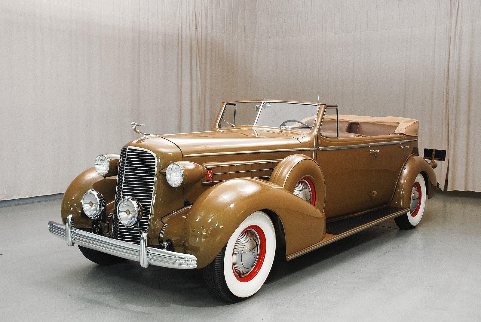 1936 cadillac series 36 75 convertible sedan hyman ltd classic cars. Black Bedroom Furniture Sets. Home Design Ideas