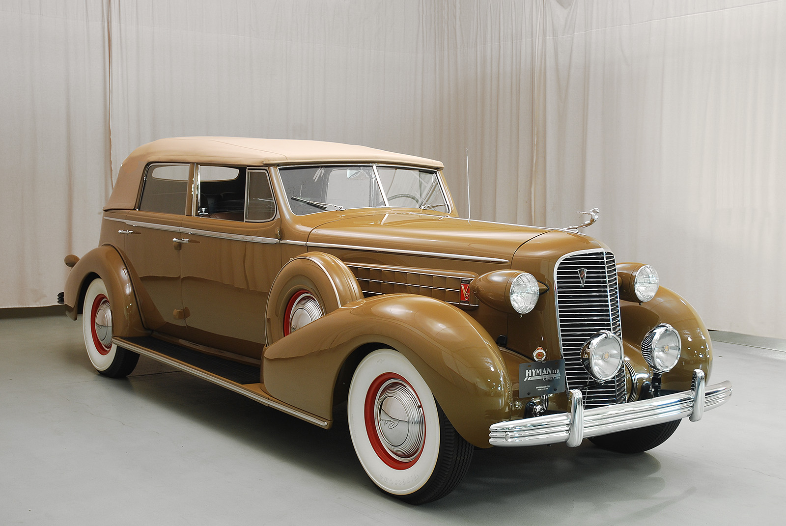 Classic Cars: 1936 Cadillac Series 36-75 Convertible Sedan