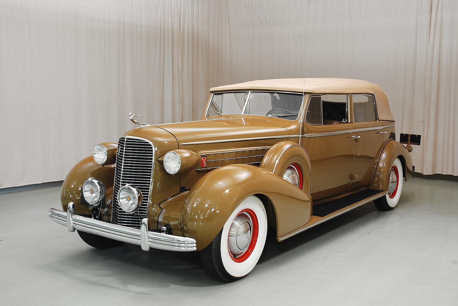 1936 Cadillac Series 36 75 Convertible Sedan Hyman Ltd