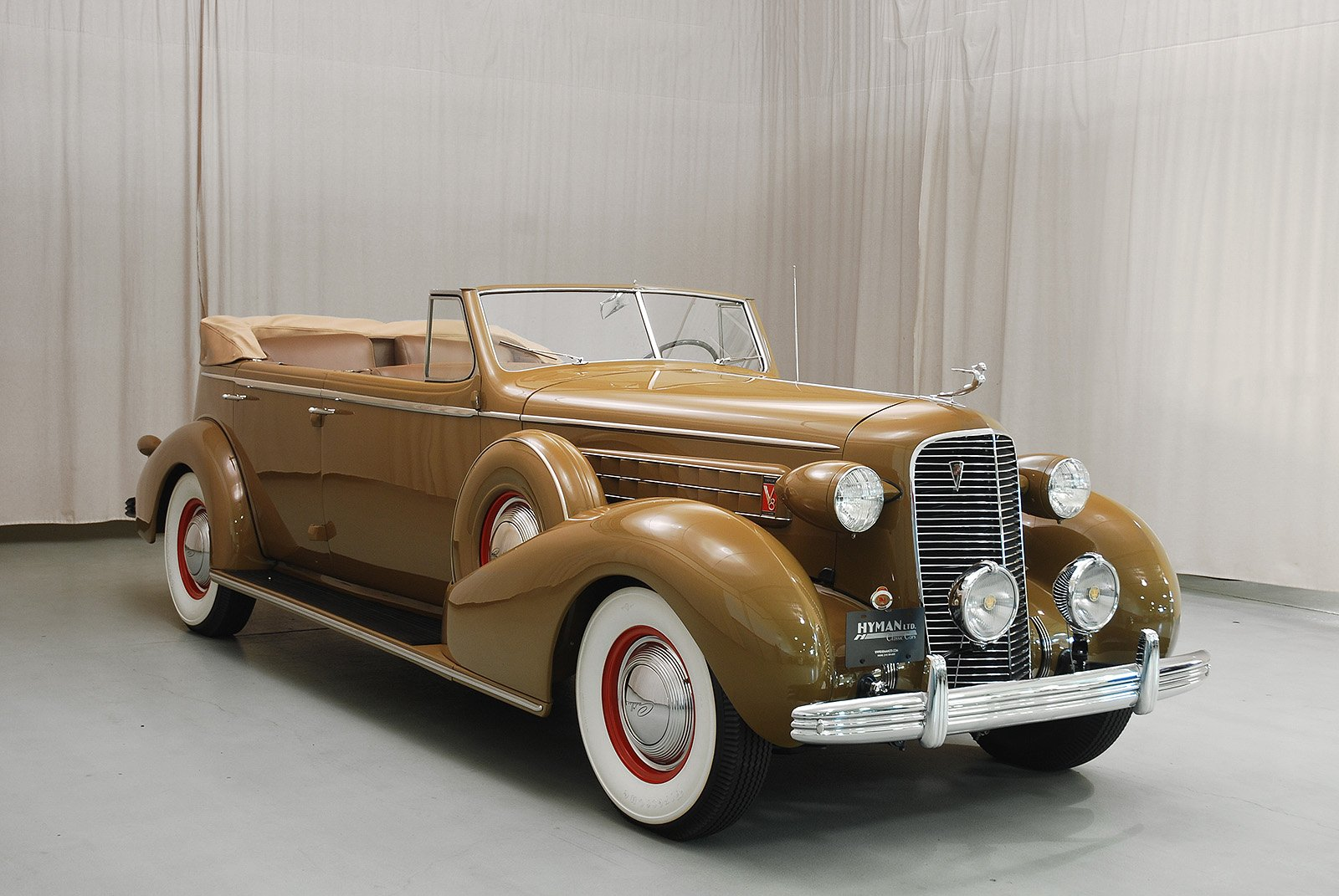 1936 Cadillac Series 36 75 Convertible Sedan Classic