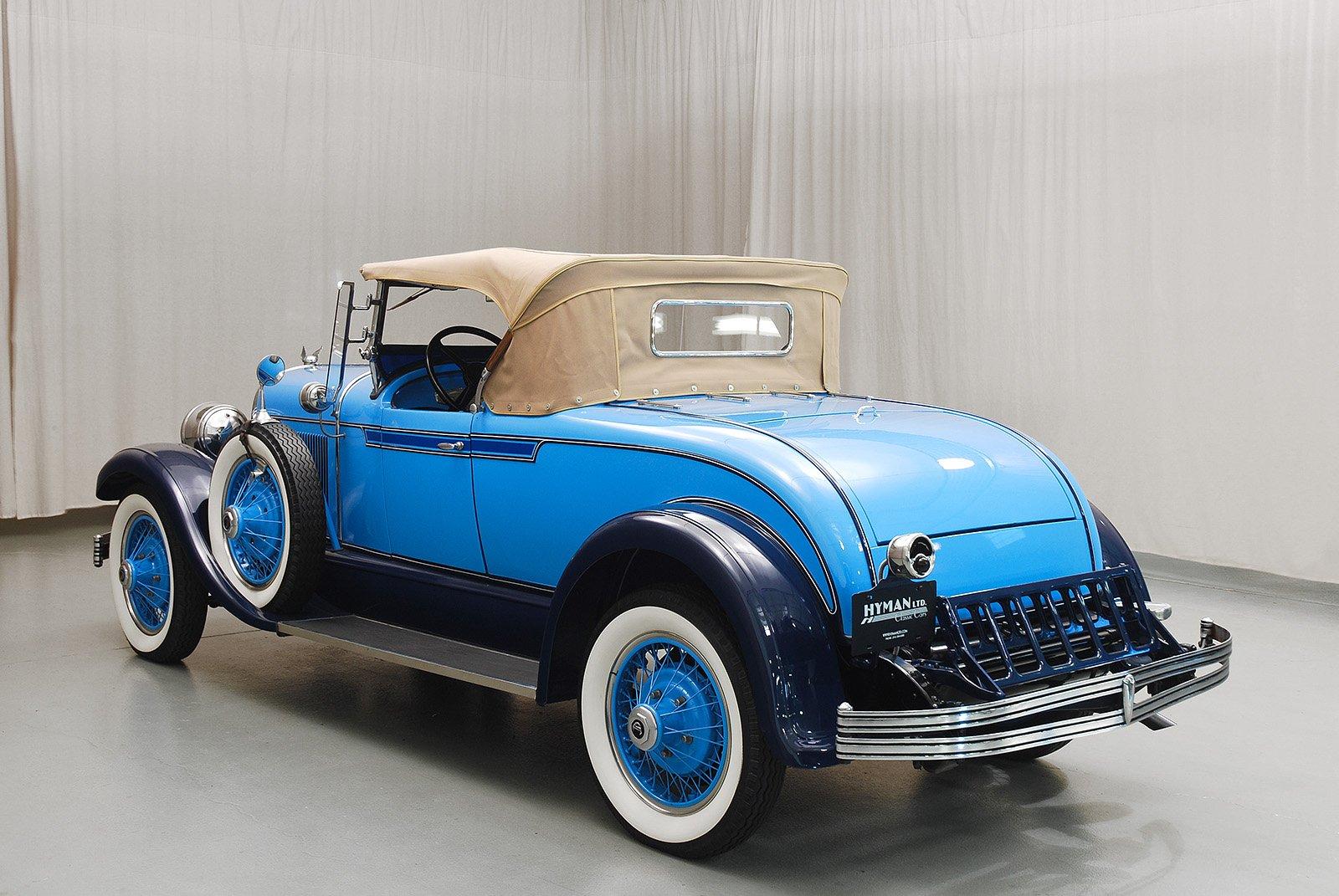 1928 Chrysler Model 72 Roadster Hyman Ltd Classic Cars