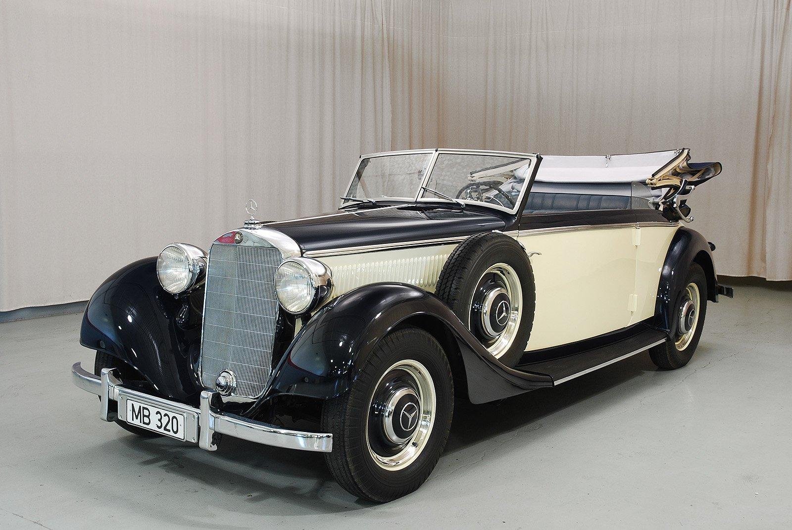 1938 mercedes benz 320 cabriolet b hyman ltd classic cars for Mercedes benz service b specials