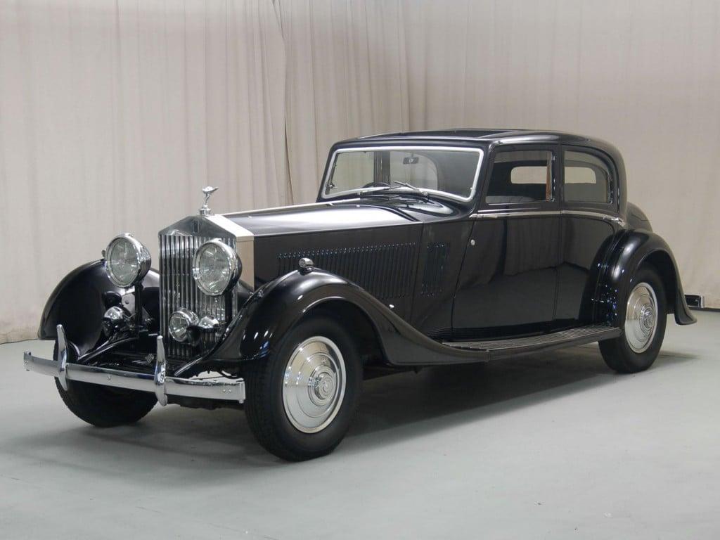1933 Rolls Royce Phantom Ii Continental Hyman Ltd