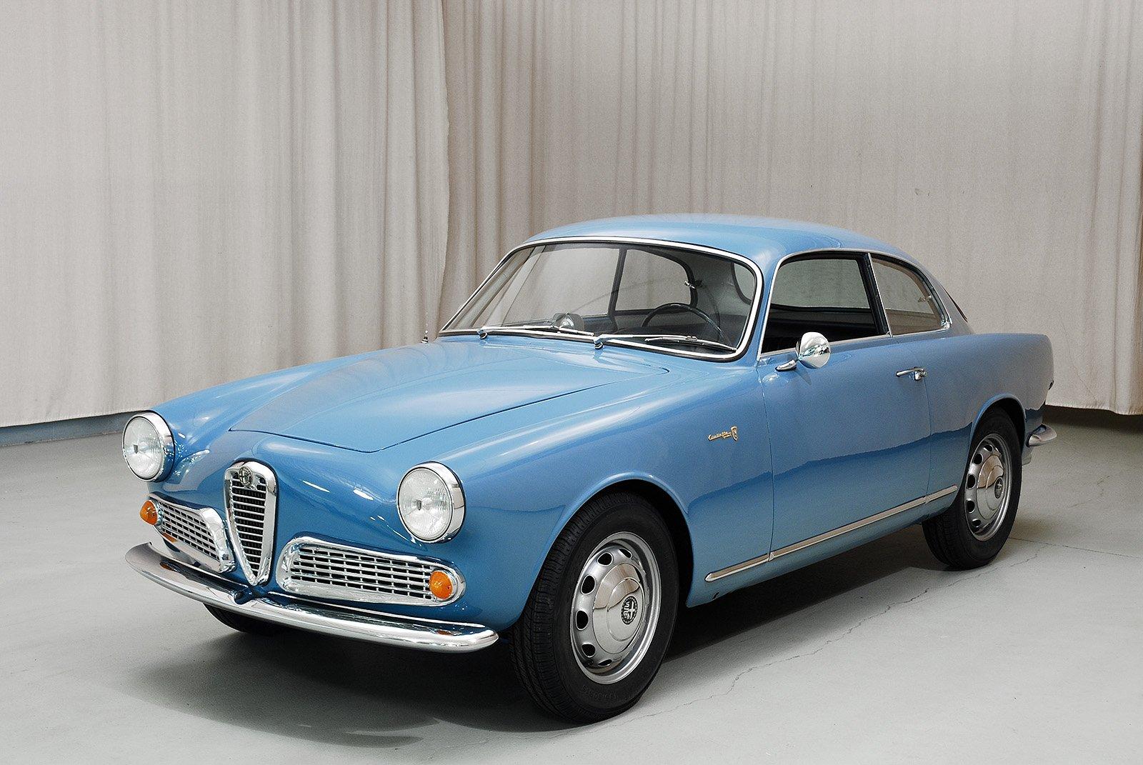 Alfa Romeo Giulietta Sprint Coupe Hyman Ltd Classic Cars - 1960 alfa romeo giulietta for sale