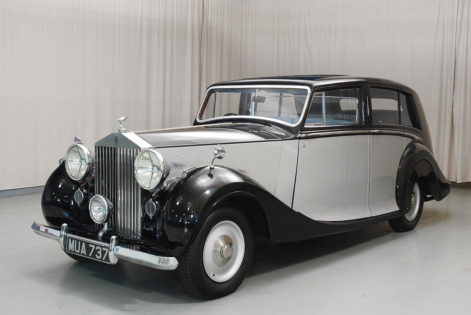 1949 rollsroyce silver wraith limousine