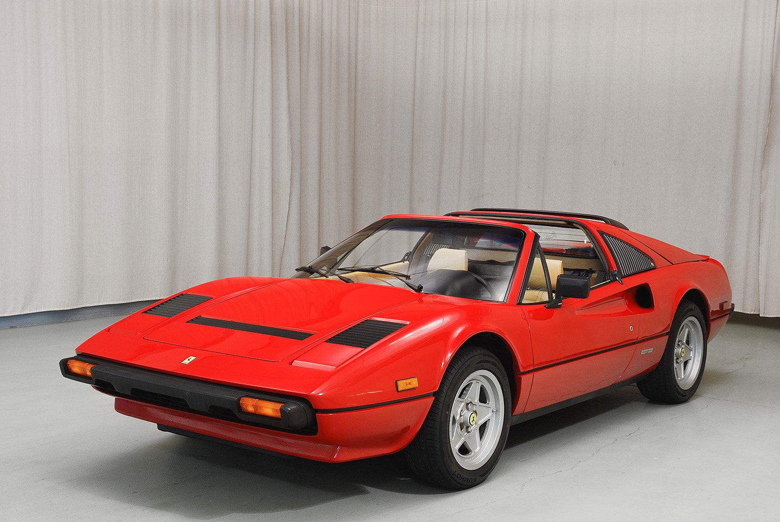 1985 ferrari 308 gts qv convertible hyman ltd classic cars. Black Bedroom Furniture Sets. Home Design Ideas