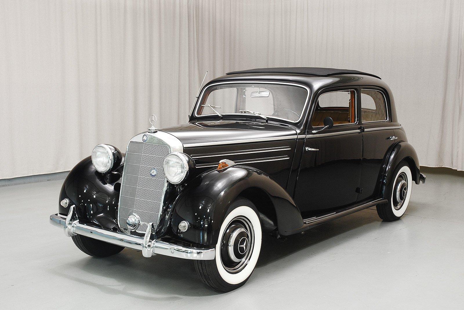 Mercedes Benz >> 1950 Mercedes-Benz 170S Sedan