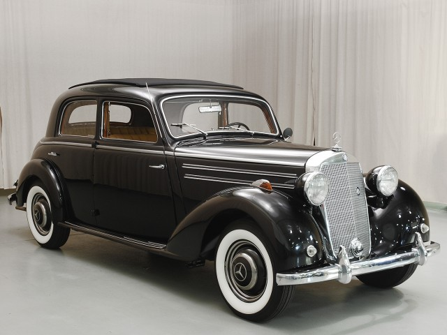 1950 mercedes benz 170s sedan hyman ltd classic cars for Mercedes benz 170 ds for sale