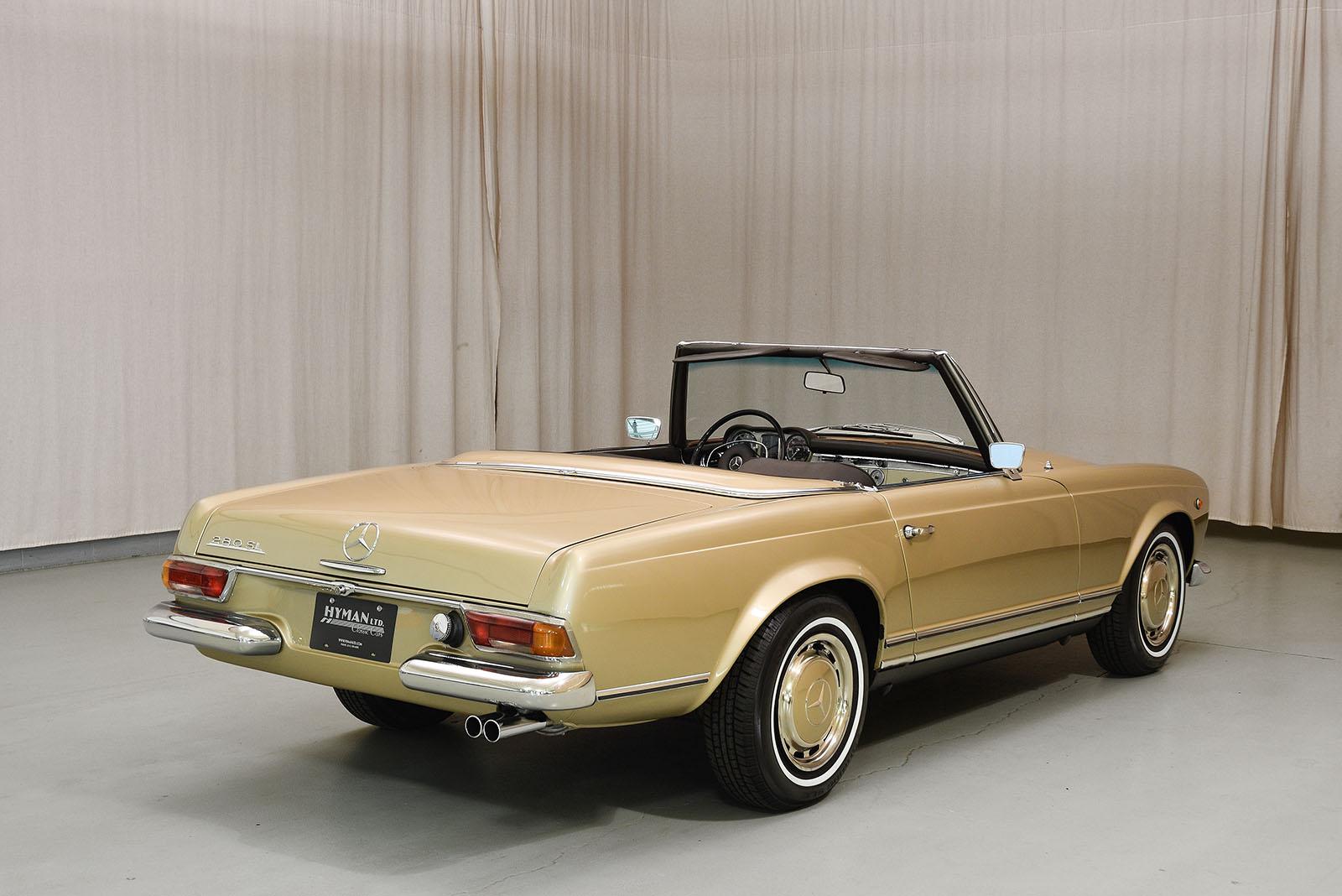1969 mercedes benz 280sl convertible hyman ltd classic cars for 1969 mercedes benz