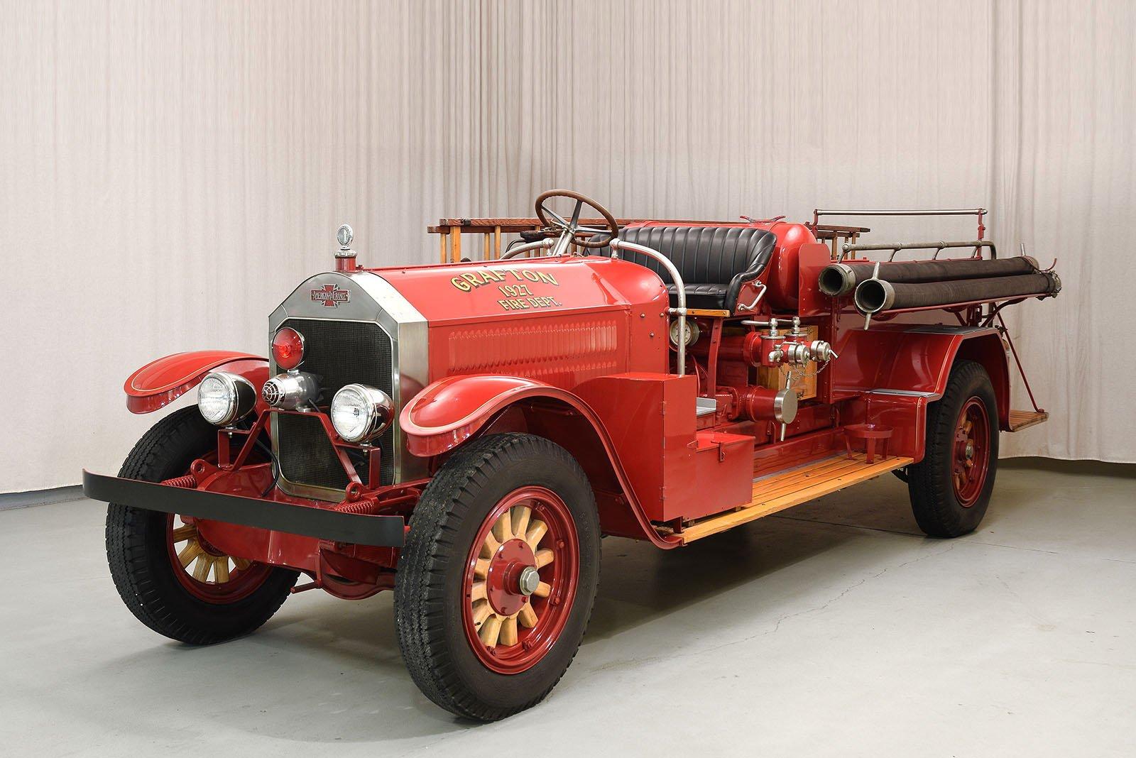 1927 american lafrance type 145 firetruck   hyman ltd