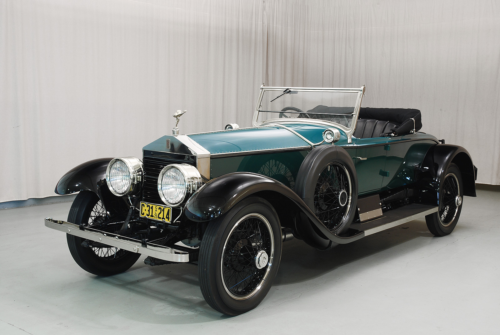1925 rolls royce silver ghost piccadilly roadster hyman. Black Bedroom Furniture Sets. Home Design Ideas