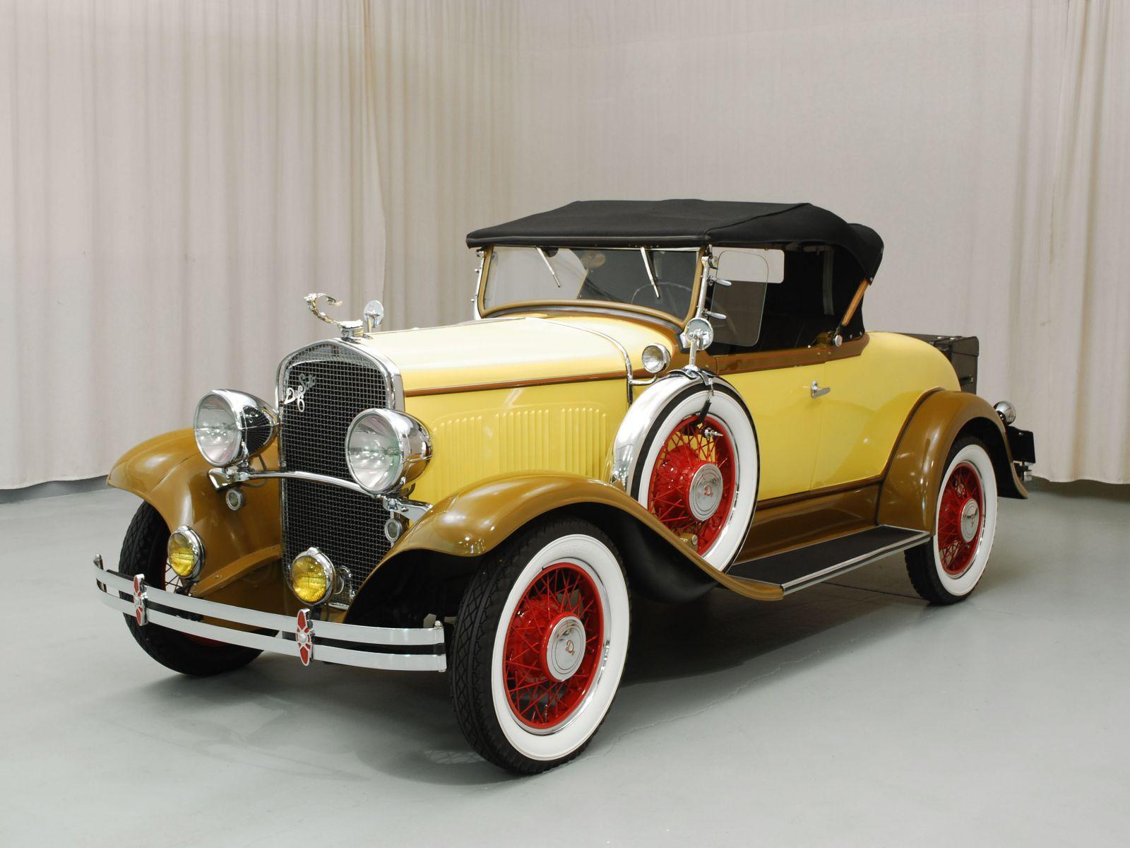 DeSoto Model K Hyman Ltd Classic Cars - Classic car 1930