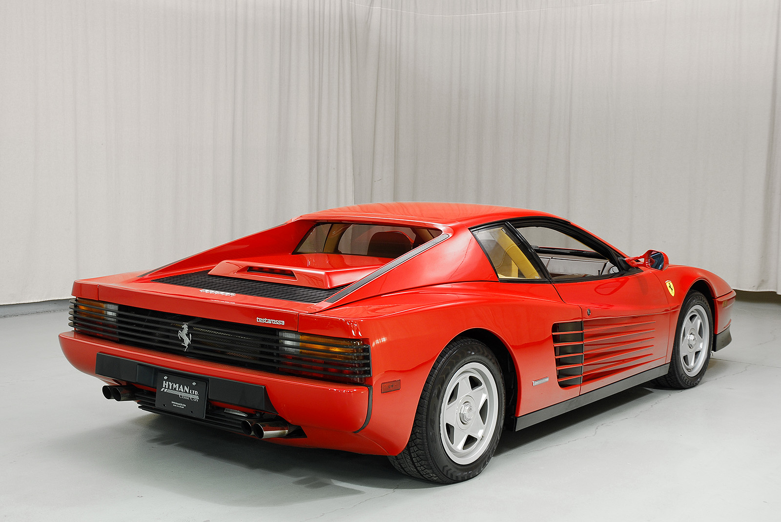 1987 ferrari testarossa coupe hyman ltd classic cars. Black Bedroom Furniture Sets. Home Design Ideas