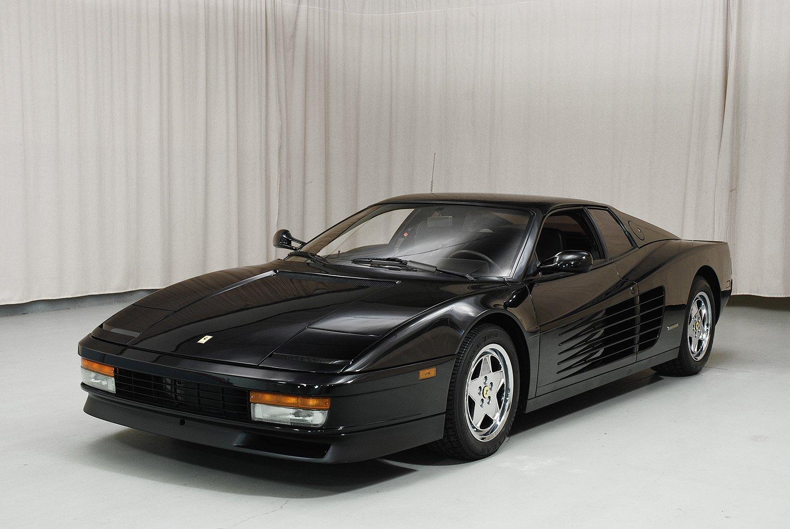 1989 Ferrari Testarossa Coupe Sold by Hyman LTD