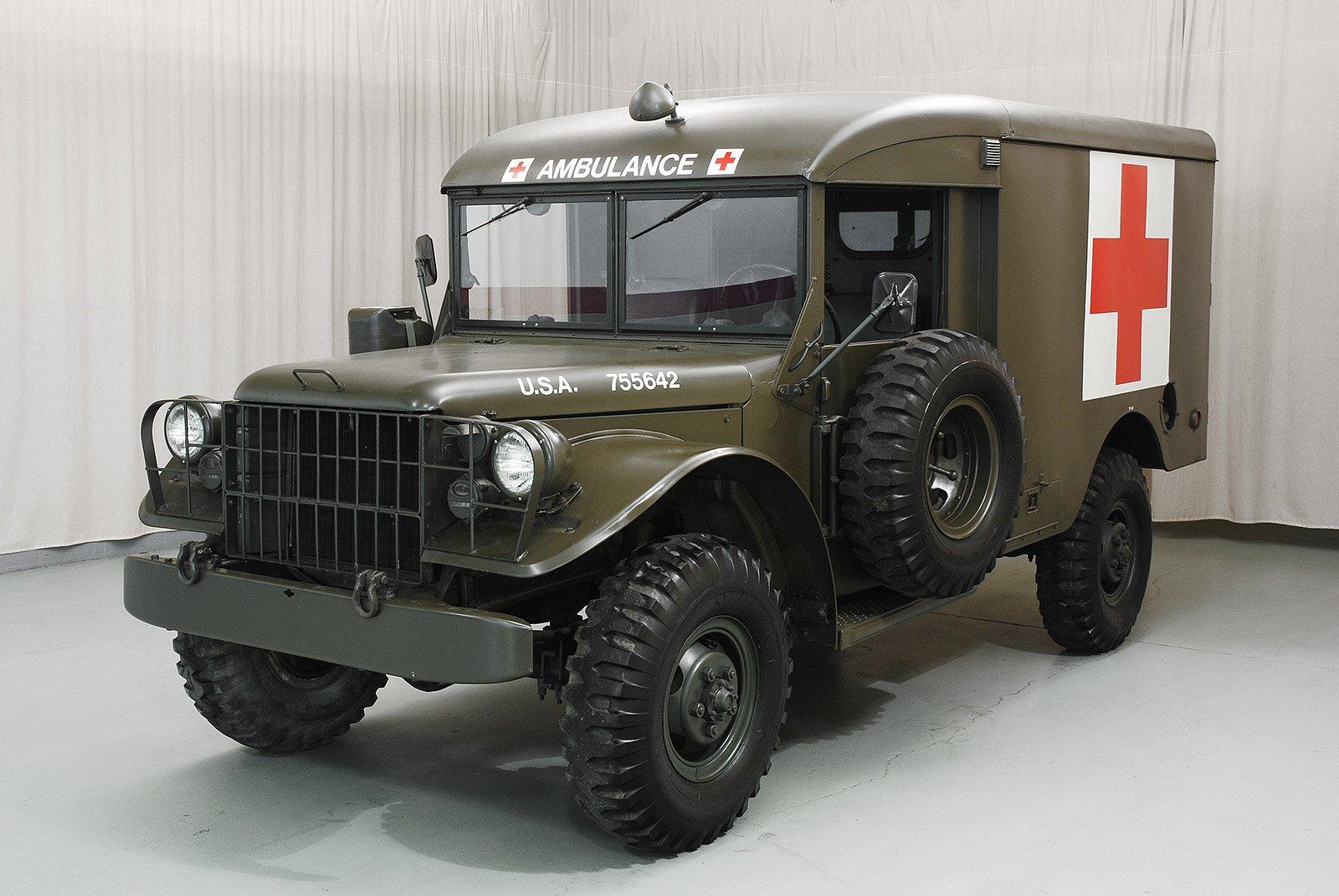 1955 Dodge M43 Ambulance  