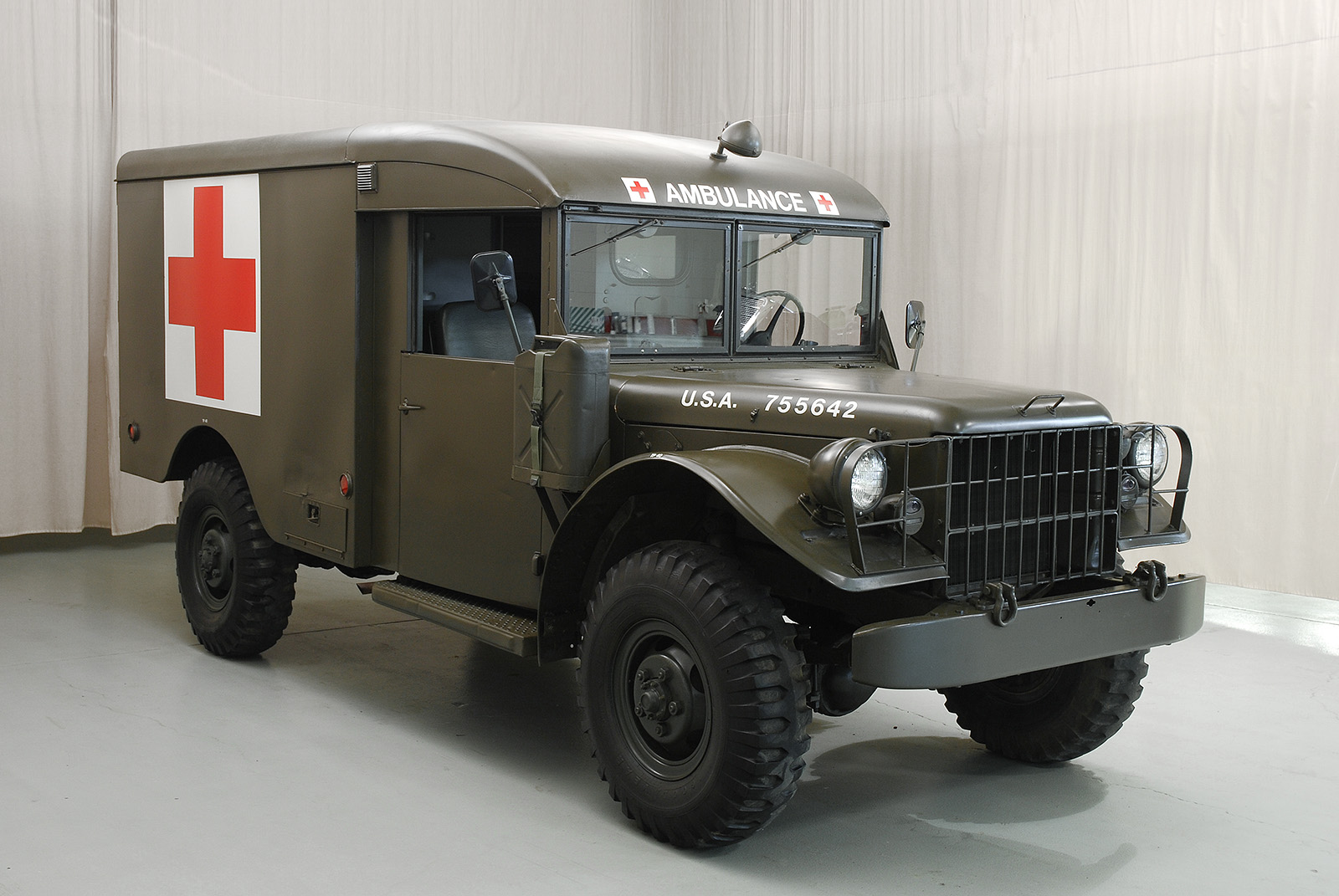 1955 Dodge M43 Ambulance | Hyman Ltd  Classic Cars