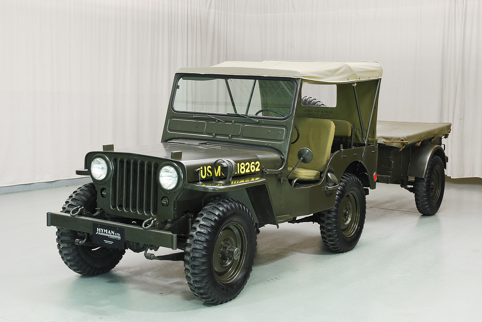 1951 willys m38 jeep hyman ltd classic cars. Black Bedroom Furniture Sets. Home Design Ideas