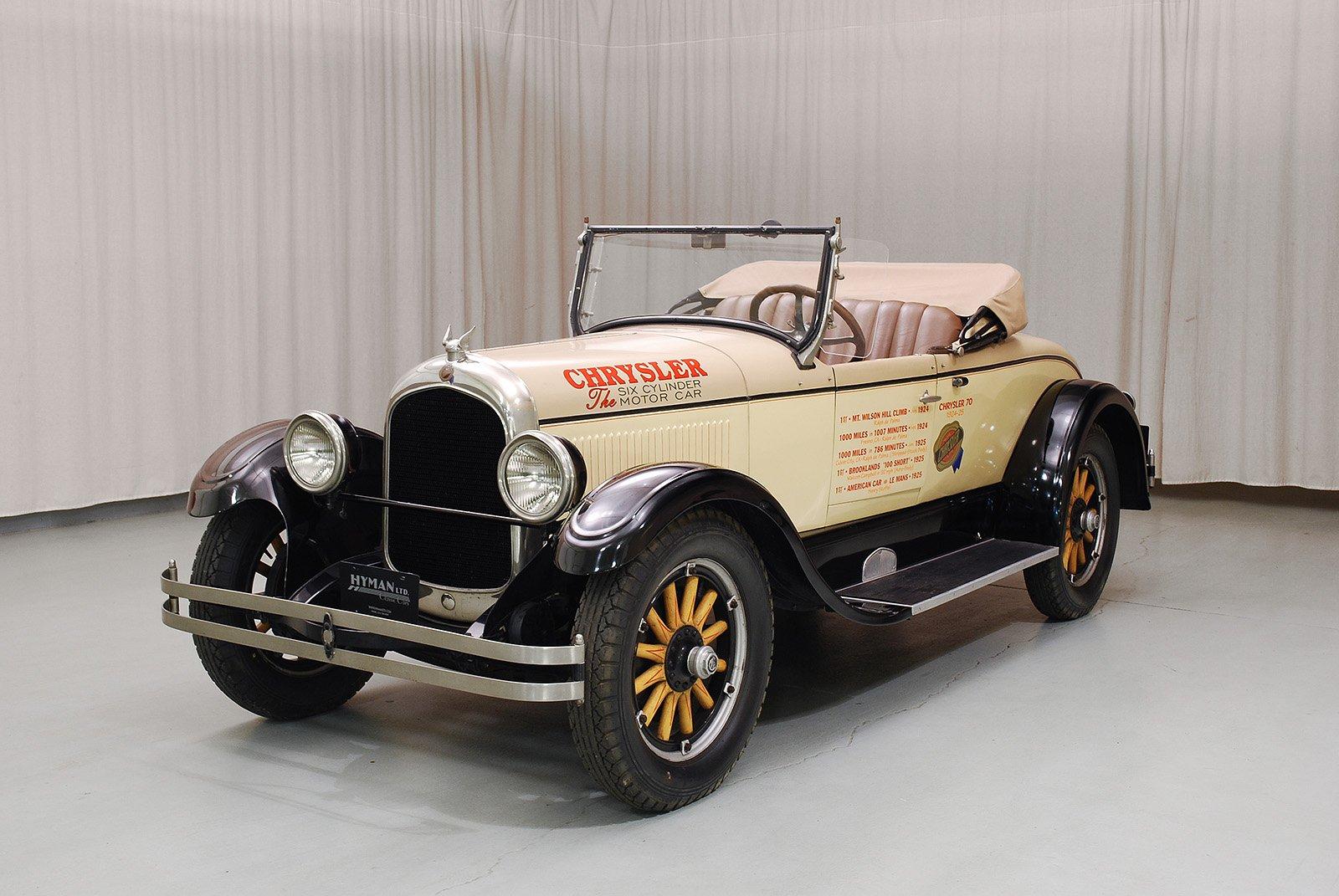 1925 Chrysler 70 Roadster Classic Cars Hyman Ltd