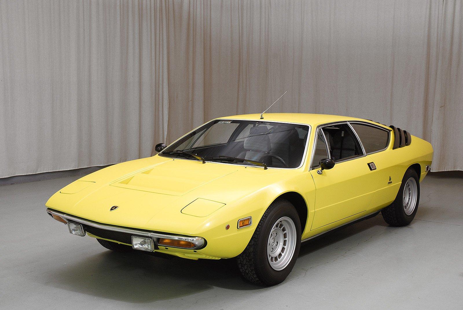 1975 Lamborghini Urraco P250 Coupe Hyman Ltd Classic Cars