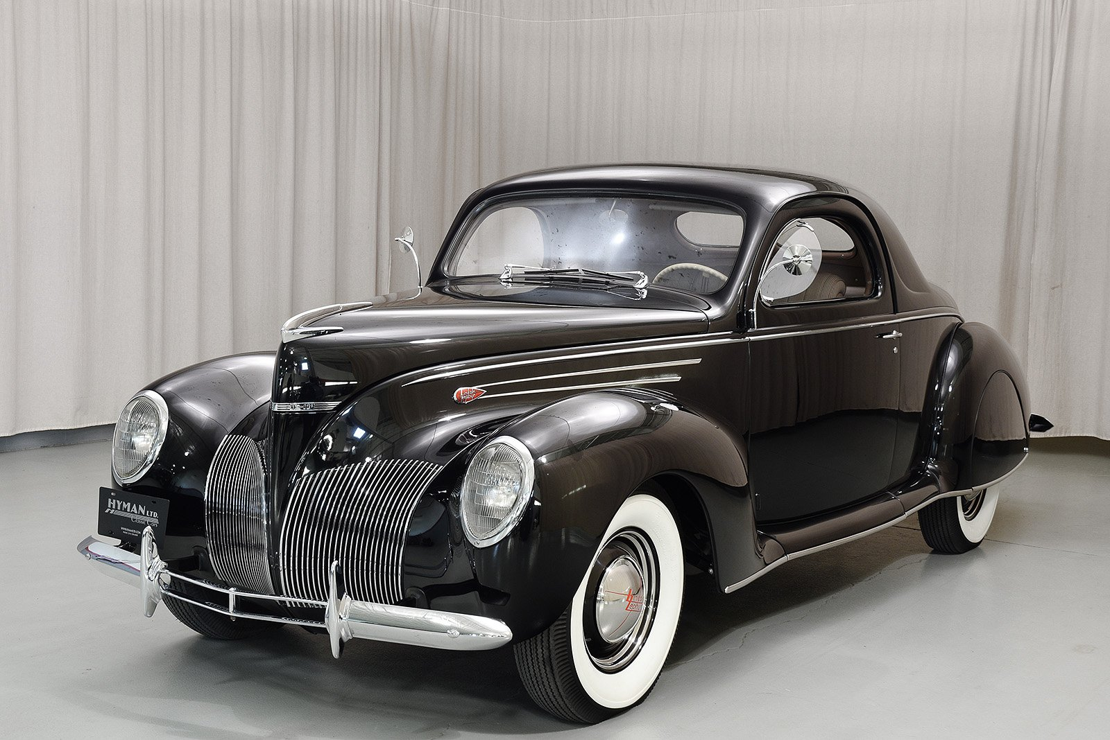 1939 Lincoln Zephyr Coupe Hyman Ltd Classic Cars