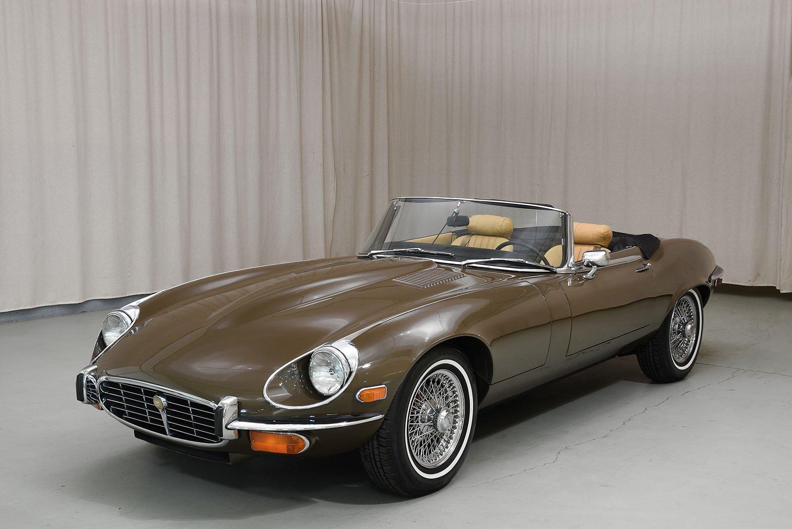 1973 Jaguar Xke Convertible
