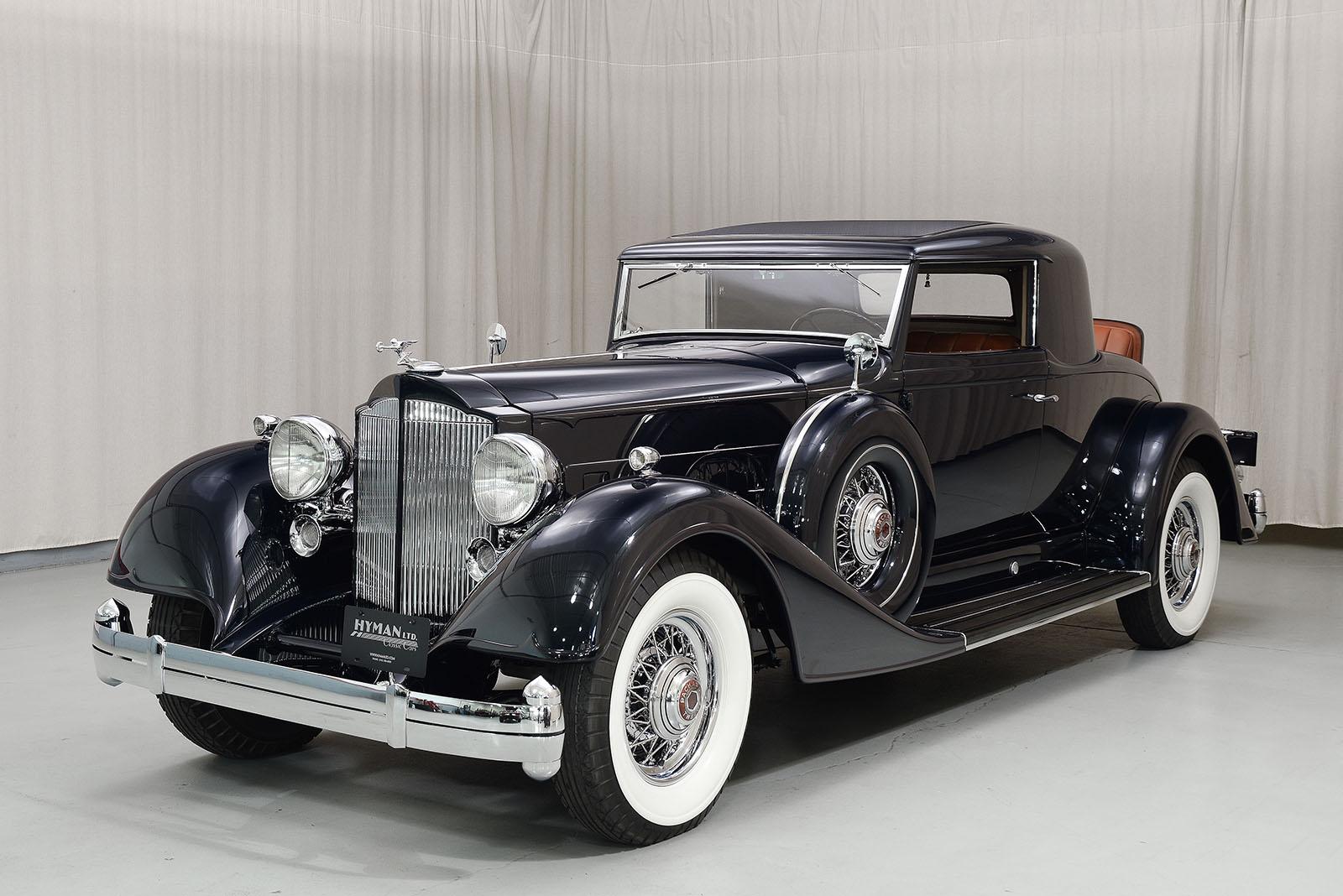 1934 Packard 12 Coupe | Hyman Ltd. Classic Cars
