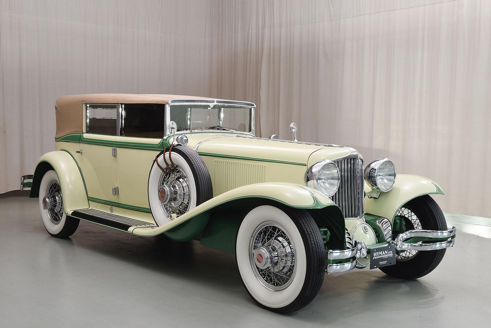 Fisher Auto Sales >> 1931 Cord L-29 Convertible Sedan | Classic Cars | Hyman LTD