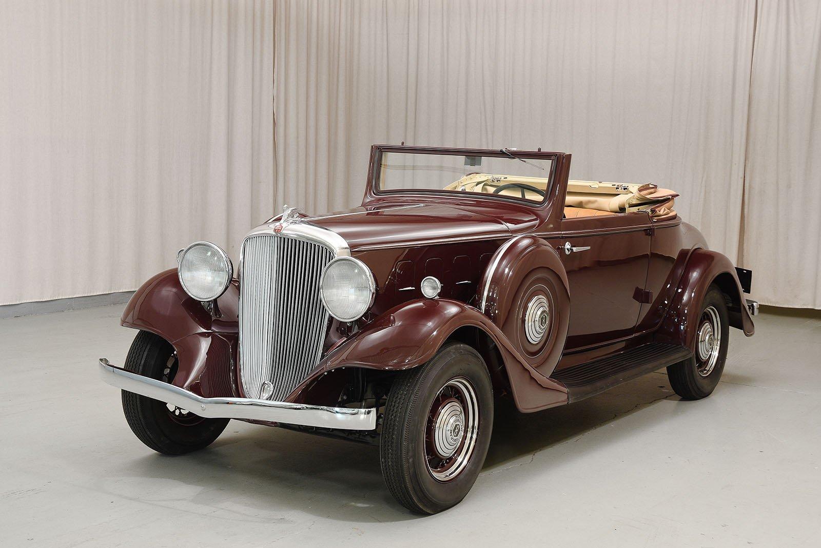 1933 Essex Terraplane 8 Rumble Seat Roadster Hyman Ltd