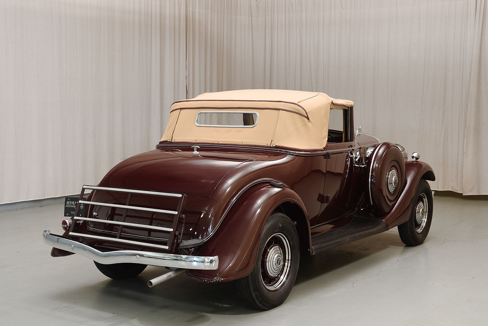 Affordable Luxury Cars >> 1933 Essex Terraplane 8 Rumble Seat Roadster | Hyman Ltd.
