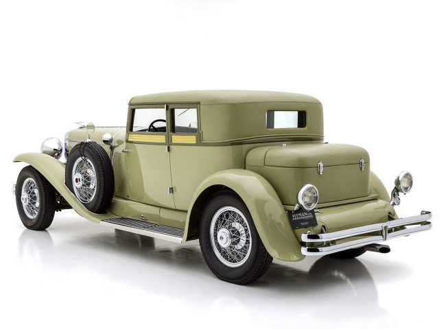 1932 Duesenberg Model J Judkins Victoria Coupe For Sale at Hyman LTD