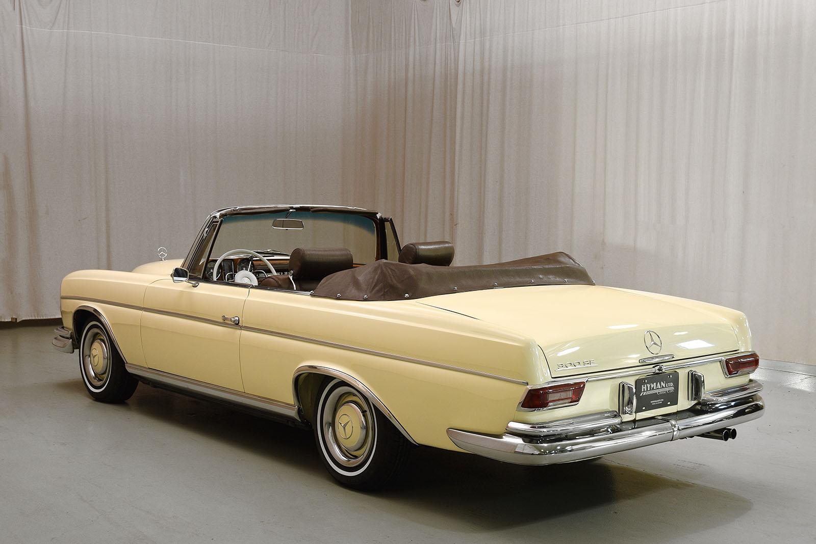 1967 mercedes benz 300se convertible hyman ltd classic cars for Mercedes benz 300 convertible