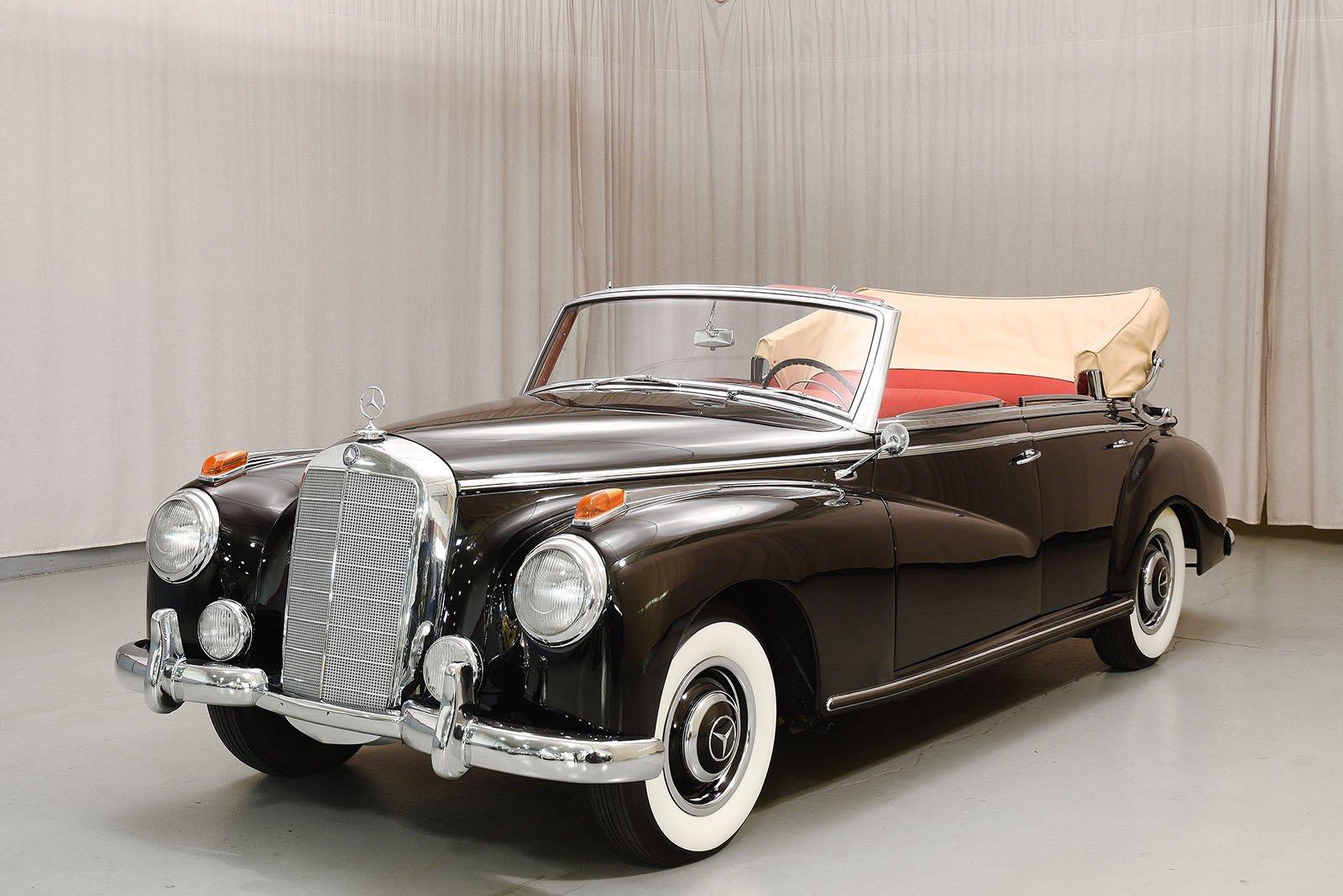 1952 mercedes benz 300 cabriolet d hyman ltd classic cars for Mercedes benz 300s