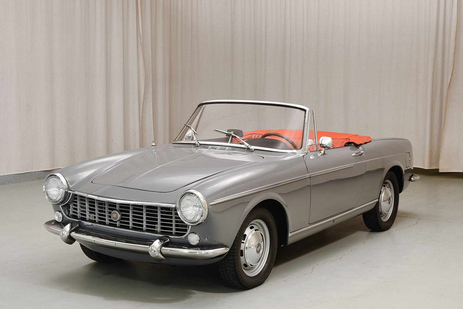 1966 fiat 1500 cabriolet hyman ltd classic cars. Black Bedroom Furniture Sets. Home Design Ideas