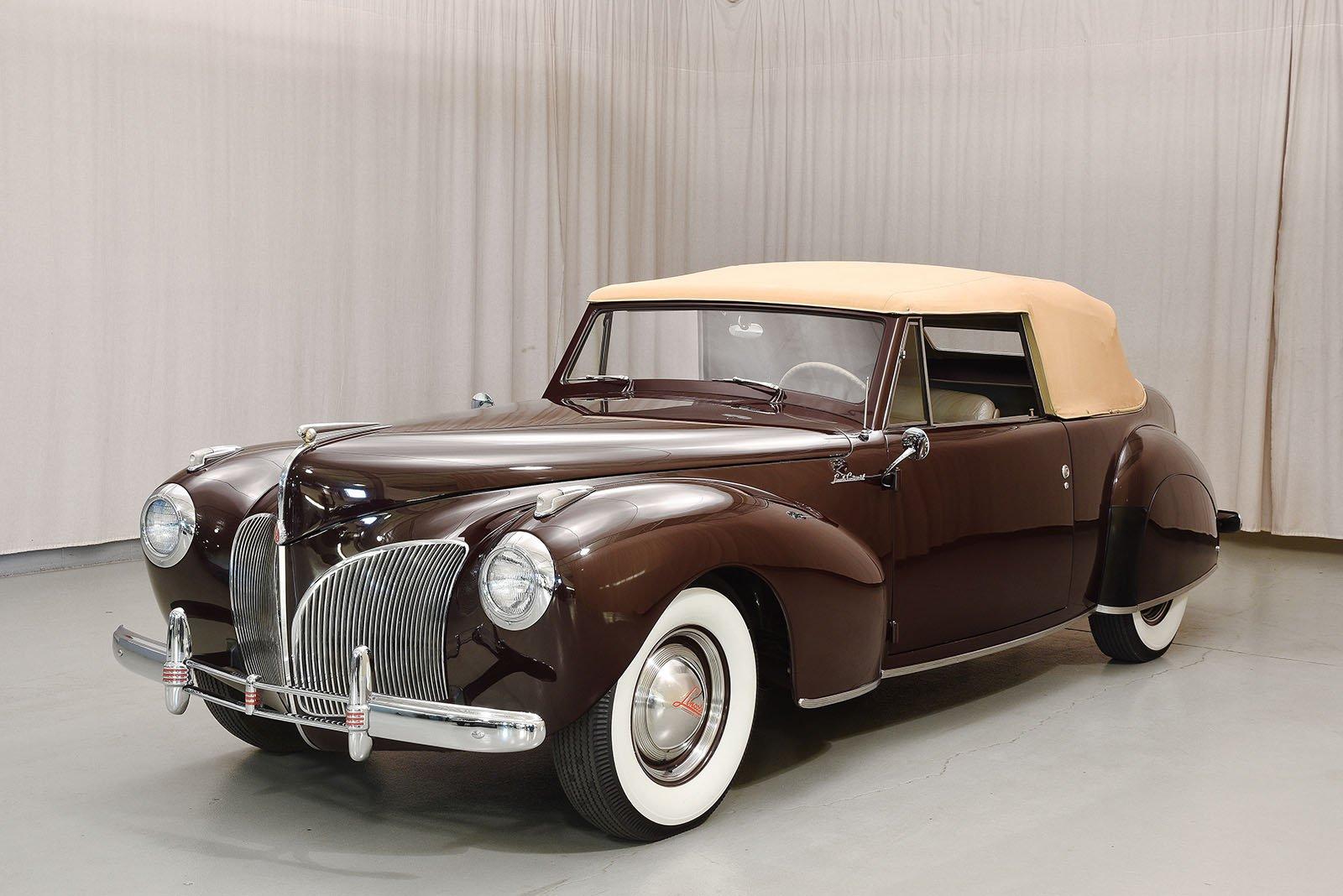 1941 Lincoln Continental Convertible Hyman Ltd Classic Cars