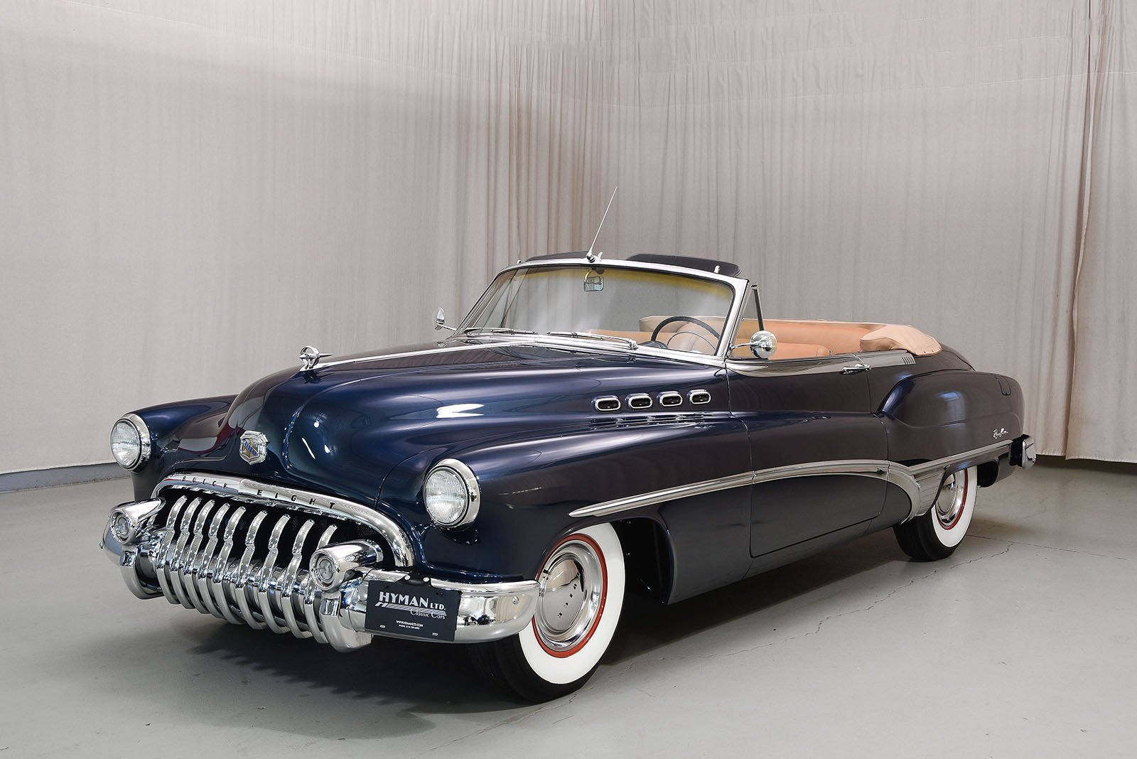 2 Door Convertible >> 1950 Buick Roadmaster Convertible | Hyman Ltd. Classic Cars
