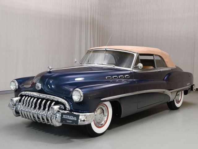 1950 Buick Roadmaster Convertible   Classic Cars   Hyman LTD