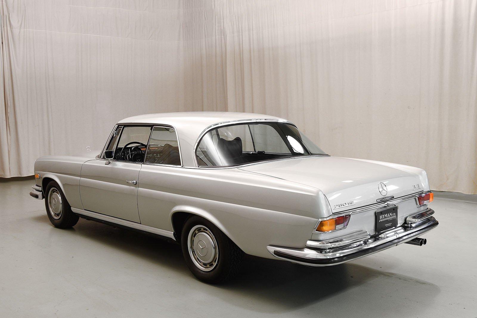 1970 mercedes benz 280se 3 5 coupe hyman ltd classic cars for 1970 mercedes benz