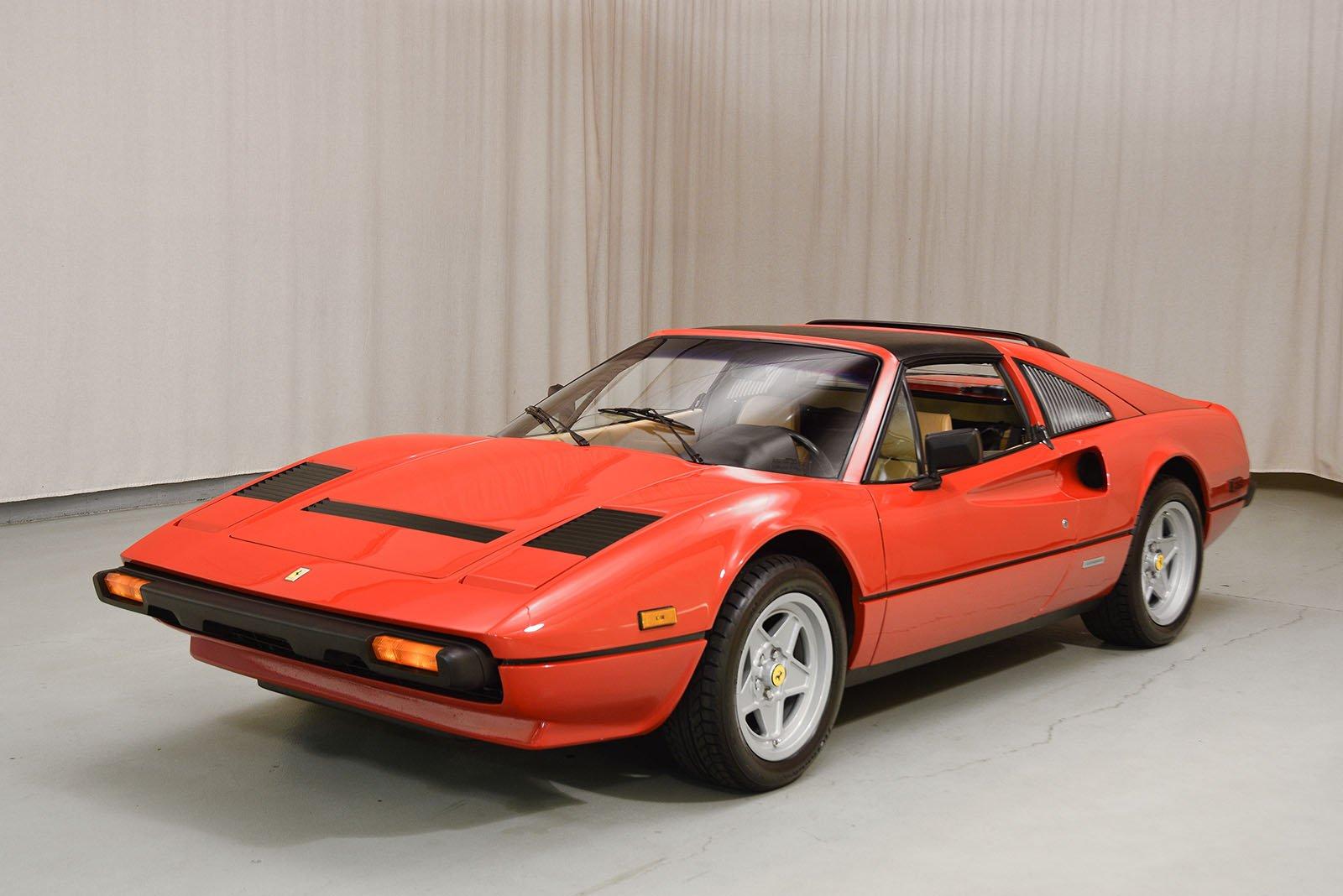 1985 ferrari 308 gtsi qv spyder hyman ltd classic cars. Black Bedroom Furniture Sets. Home Design Ideas