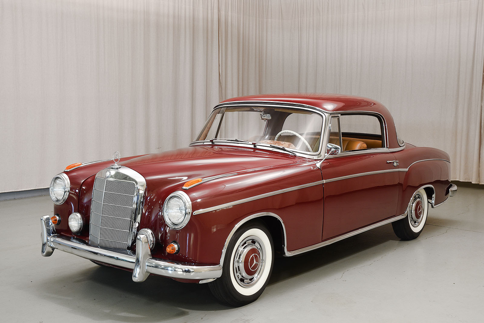 1960 mercedes benz 220se coupe for Mercedes benz service number