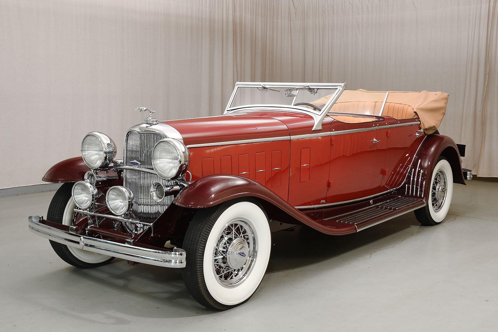 1932 lincoln kb sport phaeton hyman ltd classic cars. Black Bedroom Furniture Sets. Home Design Ideas