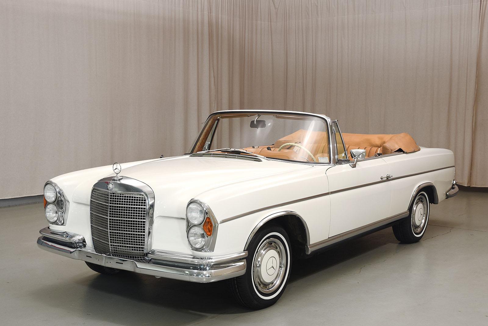 1968 mercedes benz 280se convertible for Mercedes benz service number