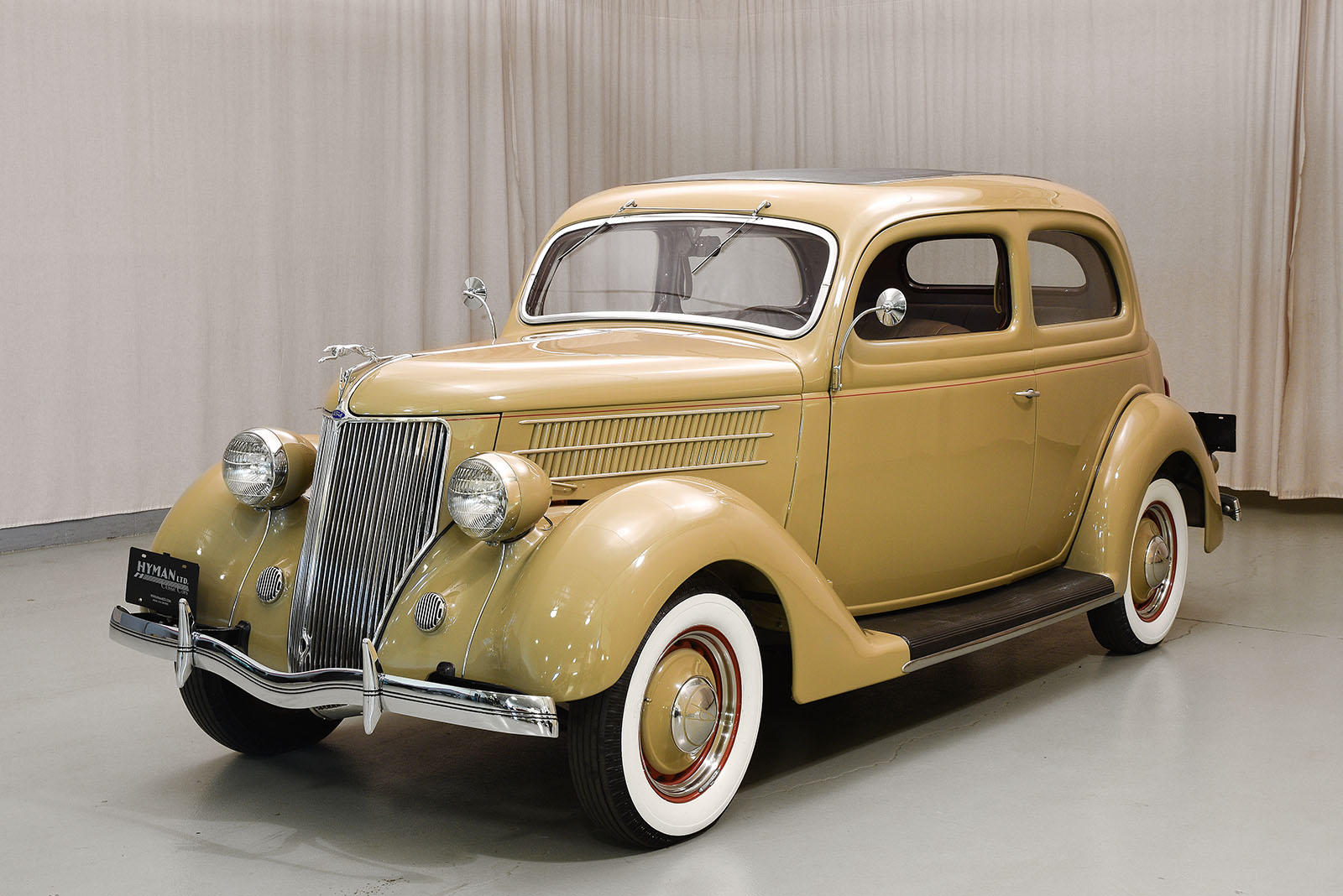1936 ford deluxe tudor hyman ltd classic cars. Black Bedroom Furniture Sets. Home Design Ideas