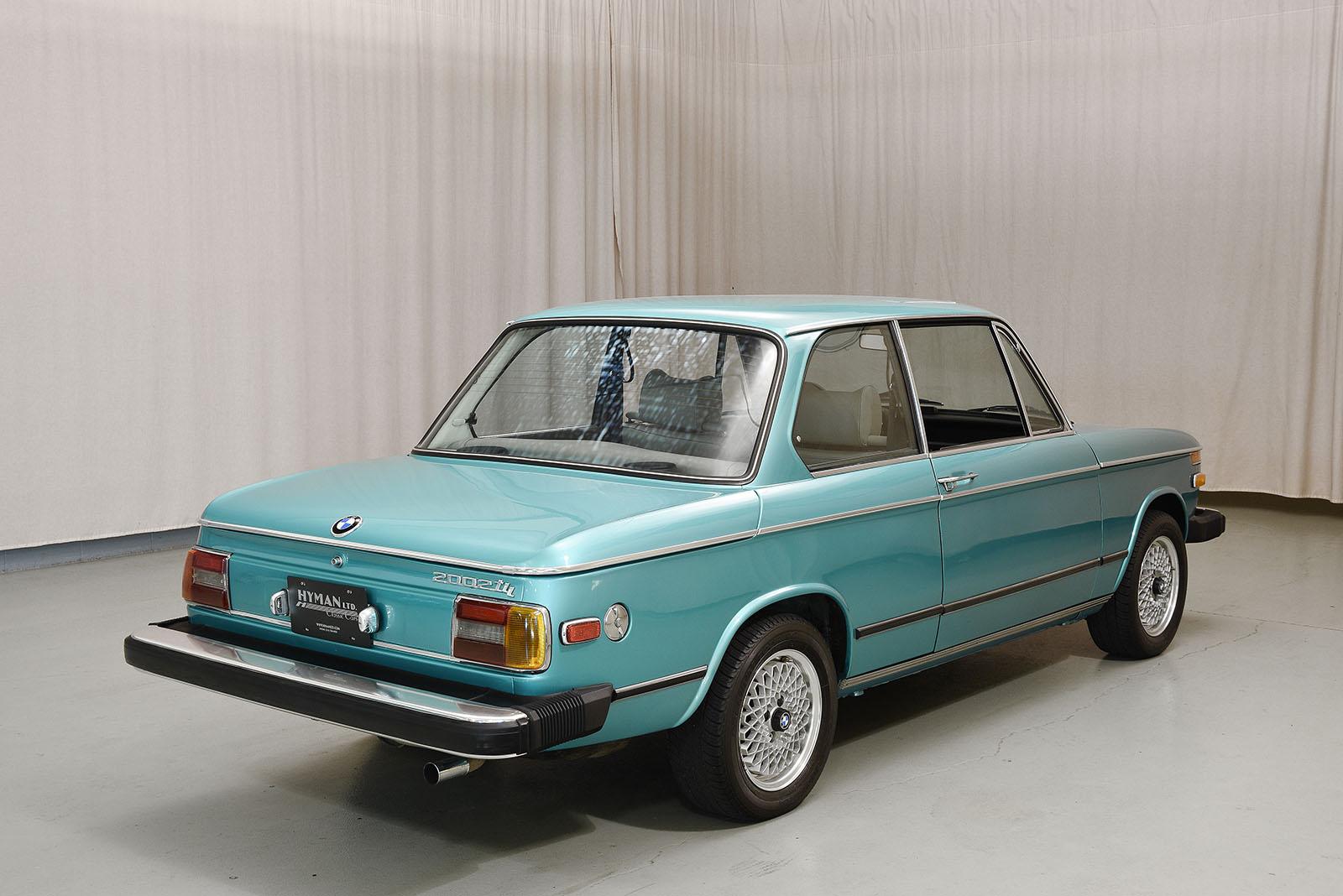 1974 bmw 2002tii sedan hyman ltd classic cars. Black Bedroom Furniture Sets. Home Design Ideas