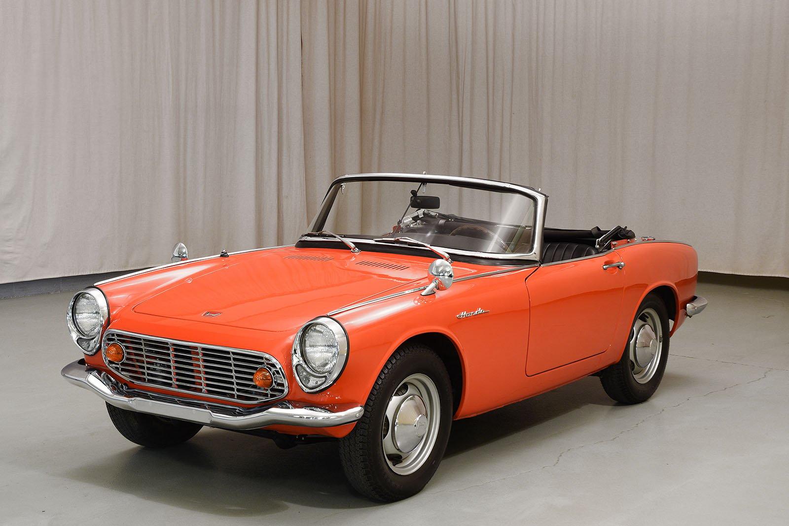 1966 Honda S600 Convertible - Hyman Ltd. Classic Cars