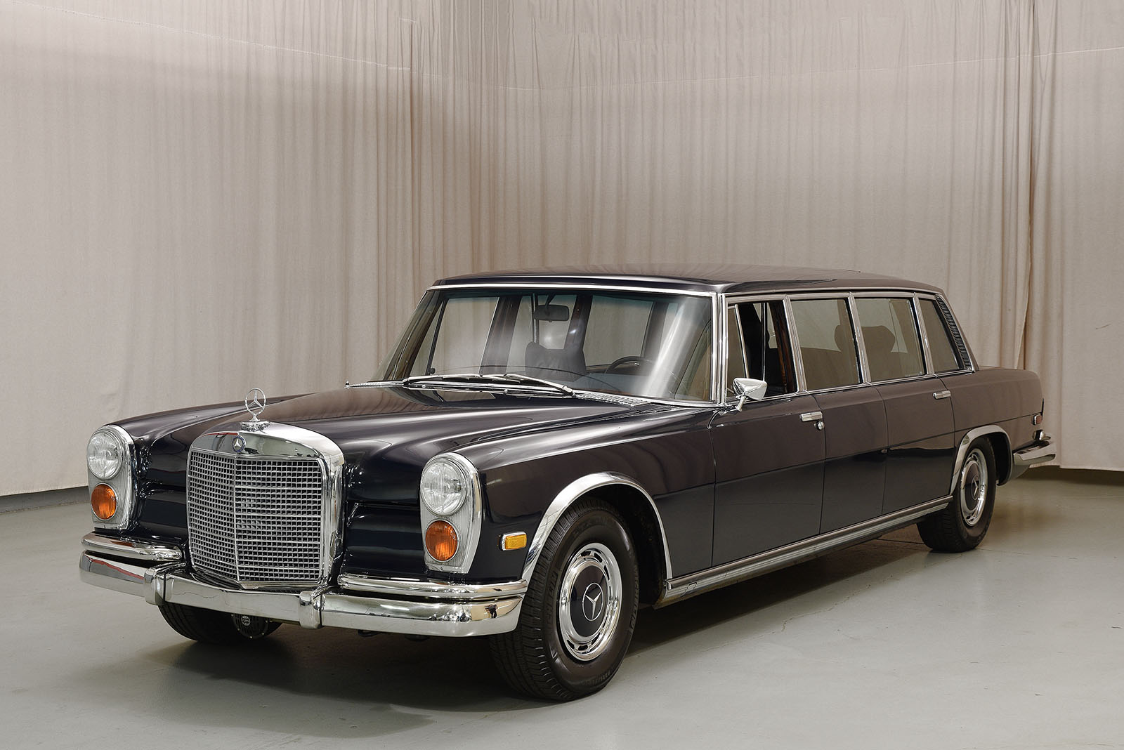 1972 mercedes benz 600 pullman sedan hyman ltd classic cars. Black Bedroom Furniture Sets. Home Design Ideas