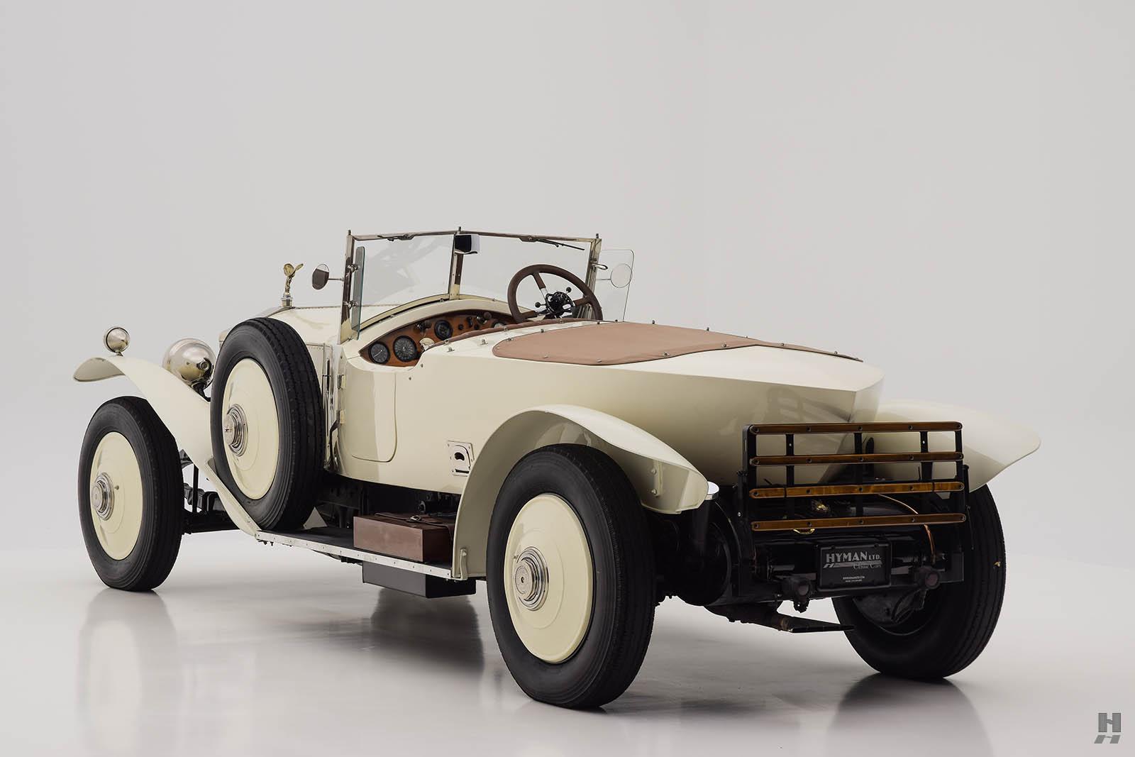 Rolls Royce Silver Ghost >> 1923 Rolls-Royce Silver Ghost Tourer | Hyman Ltd.