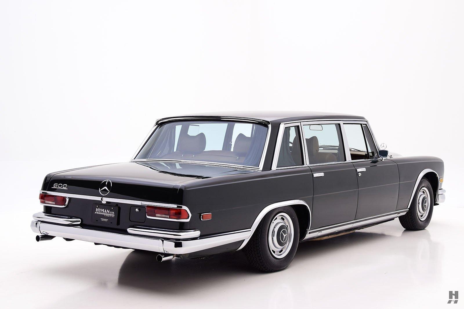 1969 mercedes benz 600 sedan hyman ltd classic cars for 1969 mercedes benz