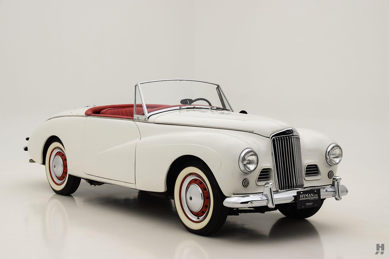 1954 Sunbeam Alpine Convertible   Hyman Ltd. Classic Cars