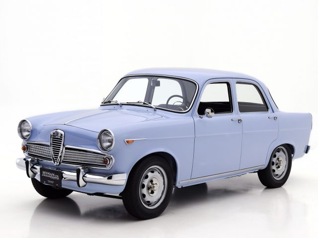 1963 Alfa Romeo Giulietta Berlina For Sale By Hyman LTD